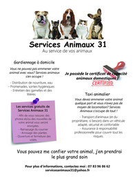 pension chien 31460