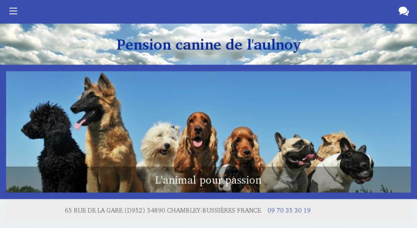 pension chien 70