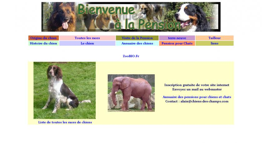 pension chien eure