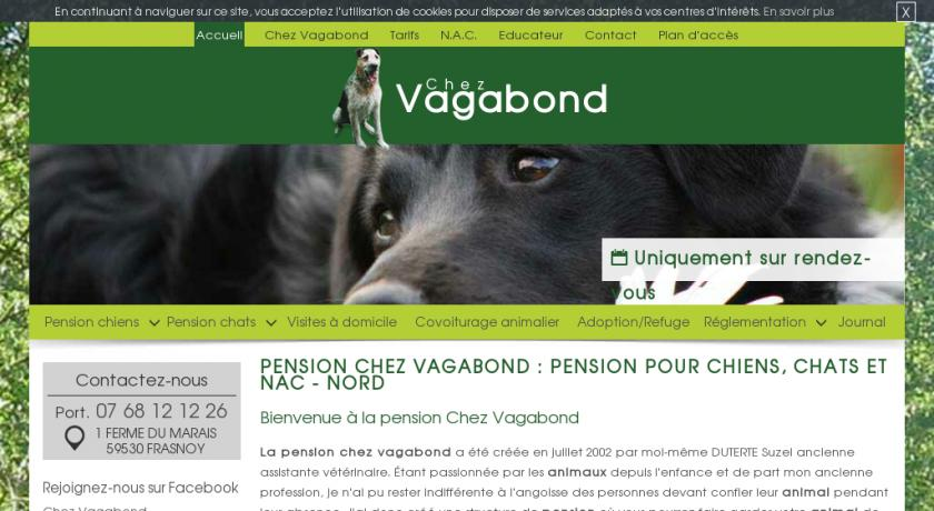 pension chien nord